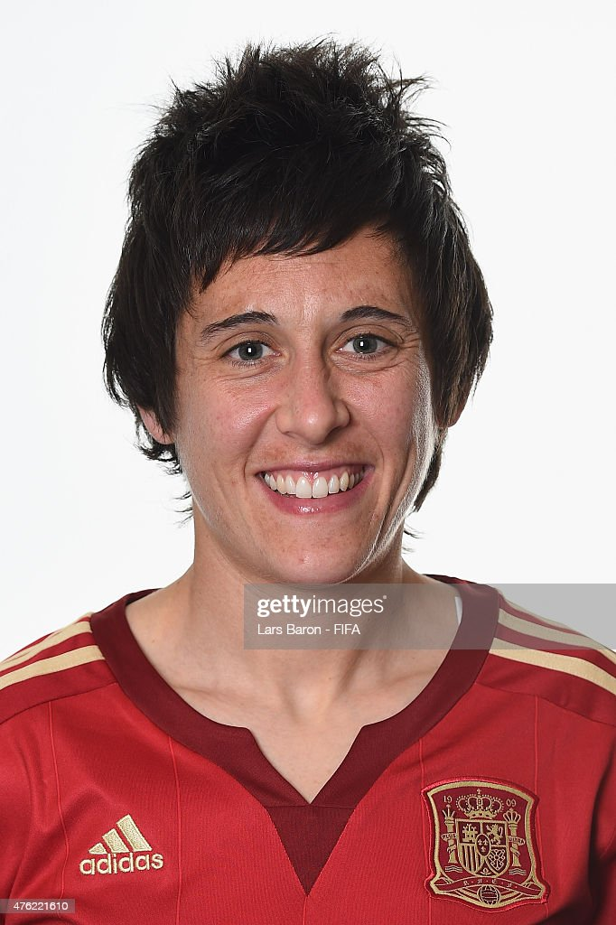 Erika Vazquez of Spain poses during the FIFA Women's World Cup 2015 portrait session at Sheraton Le Centre on June 6 2015 in Montreal Canada