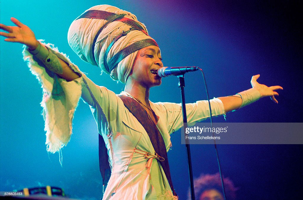Erikah Badu vocal performs on July 15th 2001 at the North Sea Jazz Festival the Hague Netherlands