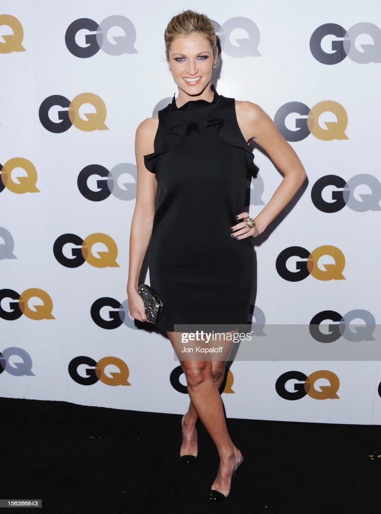 Erin Andrews arrives at GQ Men Of The Year Party at Chateau Marmont on November 13, 2012 in Los Angeles, California.