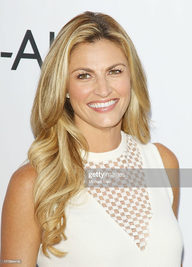 <a gi-track='captionPersonalityLinkClicked' href=/galleries/search?phrase=Erin+Andrews&family=editorial&specificpeople=834273 ng-click='$event.stopPropagation()'>Erin Andrews</a> arrives at the 2013 Los Angeles Food & Wine Festival - 'Festa Italiana With Giada De Laurentiis' opening night held on August 22, 2013 in Los Angeles, California.