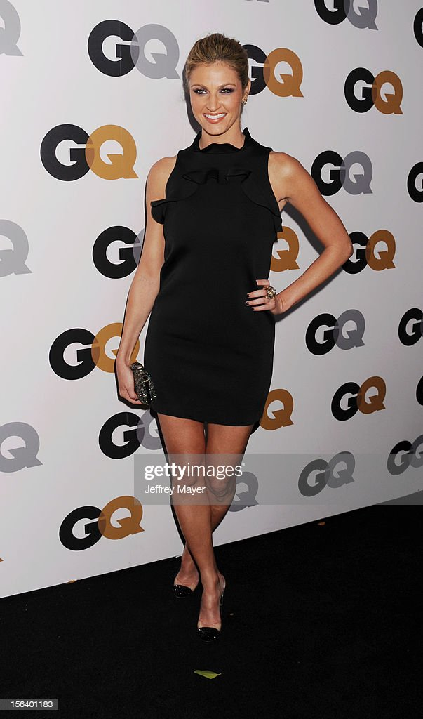 Erin Andrews arrives at the GQ Men Of The Year Party at Chateau Marmont Hotel on November 13, 2012 in Los Angeles, California.
