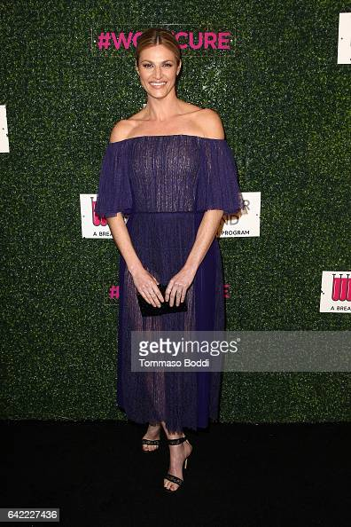Erin Andrews attends the An Unforgettable Evening held at the Beverly Wilshire Four Seasons Hotel on February 16 2017 in Beverly Hills California