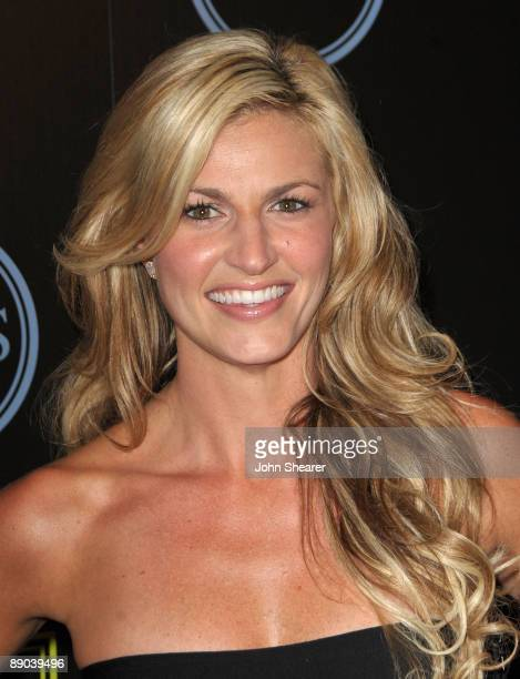 Erin Andrews attends the ESPY's Celebration Of Champions Athlete Kickoff at J Bar on July 14 2009 in Los Angeles California