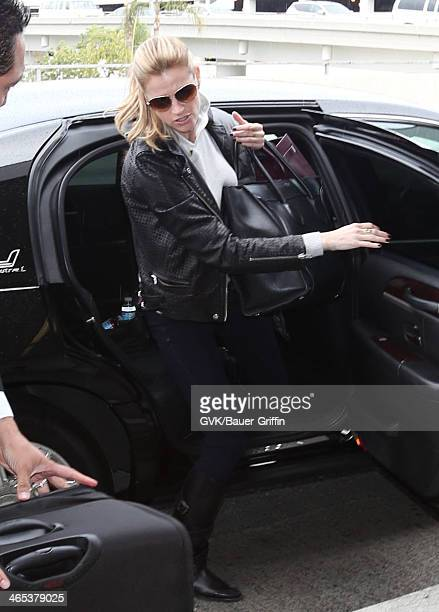 Erin Andrews is seen at LAX airport on January 26 2014 in Los Angeles California