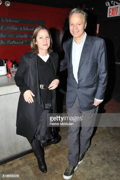 Erin Aries and Alf Naman attend RAINFOREST ACTION NETWORK's 25th Anniversary Benefit Hosted by CHRIS NOTH at Le Poisson Rouge on April 29 2010 in New...