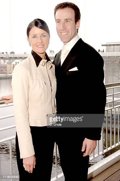 Erin Boag and Anton Du Beke during The Big Sunday February 5 2006 at ExCel London Docklands in London Great Britain