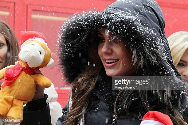 Erin Brady attends CitySightseeing New York 2013 holiday toy drive at PAL's Harlem Center on December 14 2013 in New York City