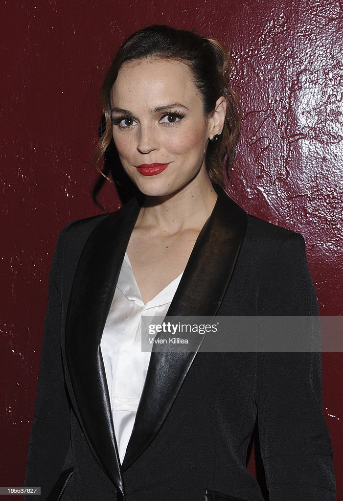 Erin Cahill attends iiJin's Fall/Winter 2013 'The Love Revolution' Clothing And Footwear Collection Fashion Show at Avalon on April 3, 2013 in Hollywood, California.
