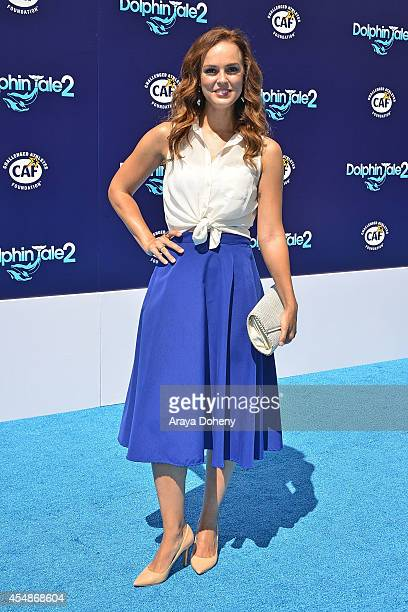 Erin Cahill attends the premiere of 'Dolphin Tale 2' at Regency Village Theatre on September 7 2014 in Westwood California