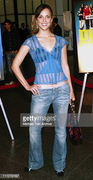 Erin Cahill during 'Dirty Deeds' Los Angeles Premiere Arrivals at Directors Guild of America in West Hollywood California United States