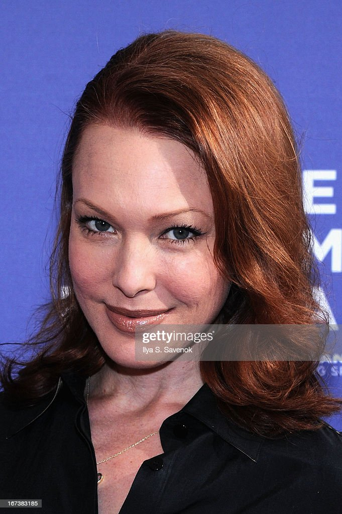 Erin Cummings attends HBO's 'The Battle of amfAR' premiere at Tribeca Film Festival on April 24, 2013 in New York City.