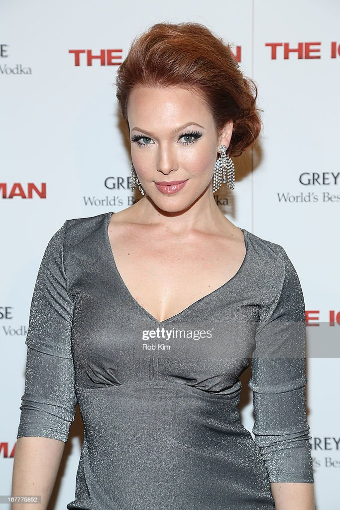 Erin Cummings attends the 'The Iceman' screening presented by Millennium Entertainment and GREY GOOSE at Chelsea Clearview Cinemas on April 29, 2013 in New York City.