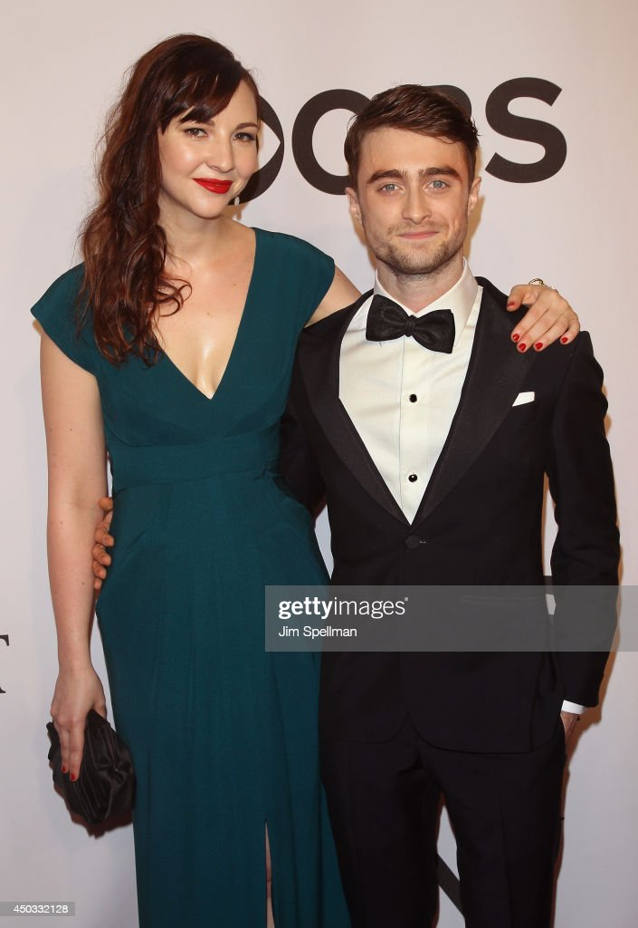 Erin Darke and <a gi-track='captionPersonalityLinkClicked' href=/galleries/search?phrase=Daniel+Radcliffe&family=editorial&specificpeople=204144 ng-click='$event.stopPropagation()'>Daniel Radcliffe</a> attend American Theatre Wing's 68th Annual Tony Awards at Radio City Music Hall on June 8, 2014 in New York City.