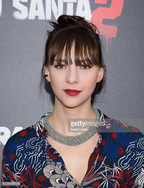 Erin Darke attends the 'Bad Santa 2' New York premiere at AMC Loews Lincoln Square 13 theater on November 15 2016 in New York City