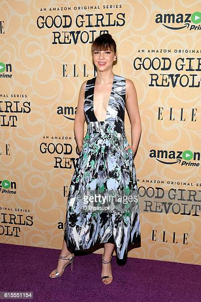 Erin Darke attends the 'Good Girls Revolt' New York screening at the Joseph Urban Theater at Hearst Tower on October 18 2016 in New York City
