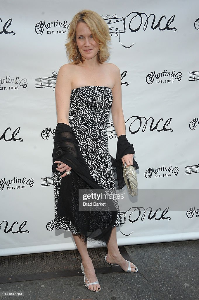 Erin Dilly attends the 'Once' Broadway opening night at The Bernard B Jacobs Theatre on March 18 2012 in New York City