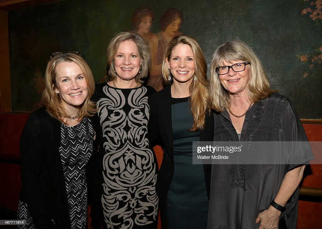 Erin Dilly Nancy Ringham Kelli O'Hara and Judith Ivey from the 2001 Broadway 'Follies' attend 'A Tribute to Polly Bergen' at the American Airlines...