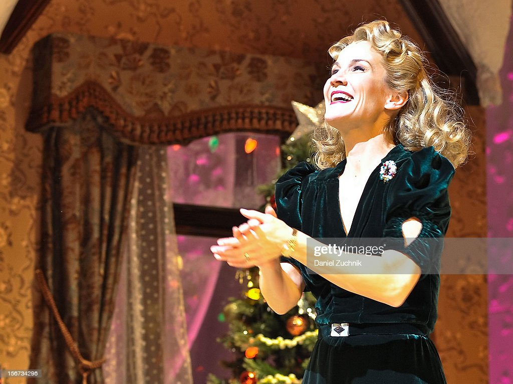 Erin Dilly performs during 'A Christmas Story: The Musical' broadway opening at Lunt-Fontanne Theatre on November 19, 2012 in New York City.