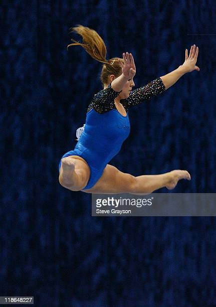 Erin Dooley of Florida in action at the 2004 NCAA Championship Individual Finals at Pauley Pavilion in Westwood California April 17