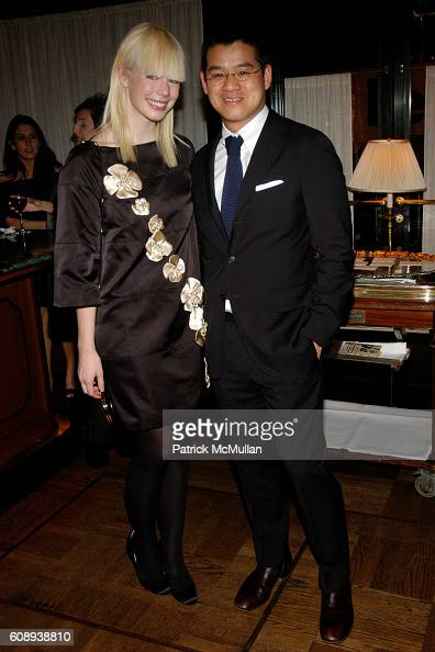 Erin Featherston and Peter Som attend 30th Anniversary of NATORI Honoring JOSIE NATORI at La Grenouille on November 1 2007 in New York