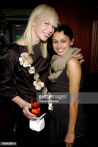 Erin Featherston and Sophia Buhai attend 30th Anniversary of NATORI Honoring JOSIE NATORI at La Grenouille on November 1 2007 in New York