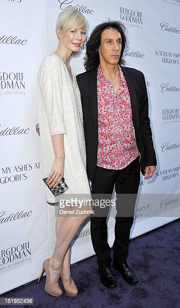 Erin Fetherston and Warren Tricomi attend the screening of 'Scatter My Ashes' at Bergdorfs to celebtrate Bergdorf Goodman's 111th Anniversary at...