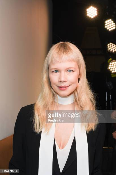 Erin Fetherston poses backstage at the Erin Fetherston show during New York Fashion Week The Shows at The Gallery at Skylight Clarkson Sq on February...