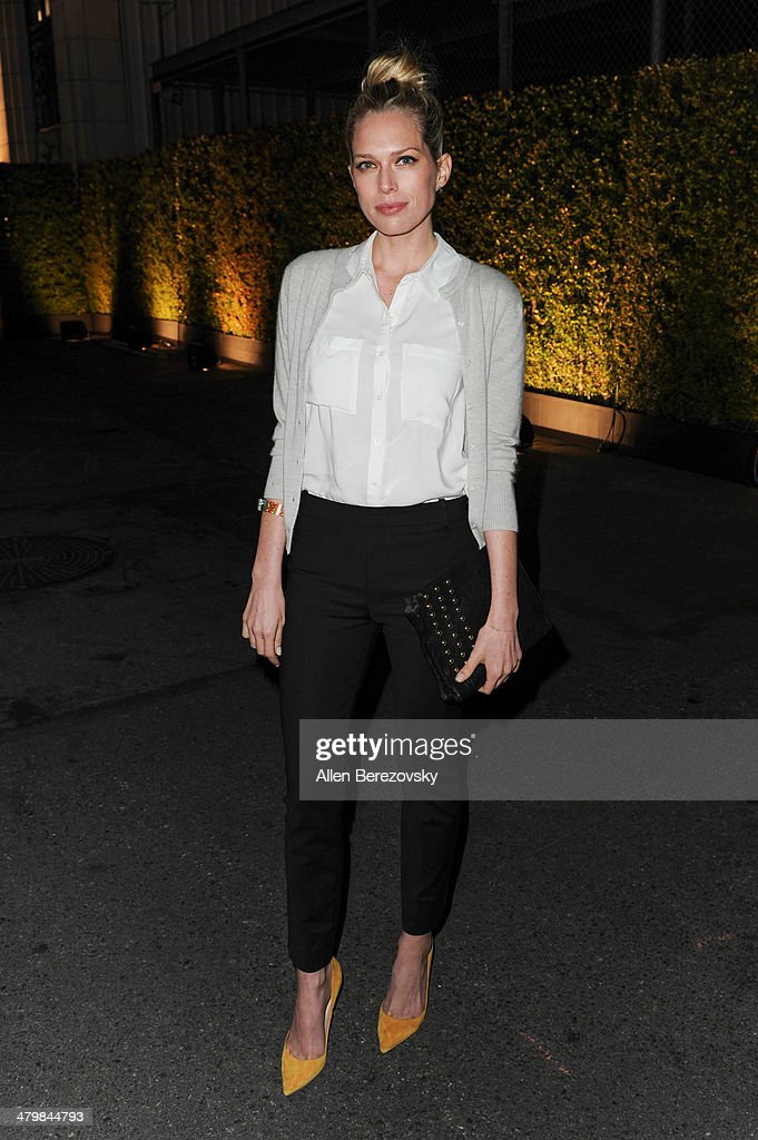 Erin Foster attends the 2nd Annual Rebel With A Cause Gala cocktail reception at Paramount Studios on March 20, 2014 in Hollywood, California.