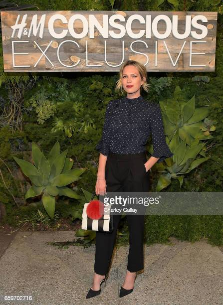 Erin Foster attends the HM Conscious Exclusive Dinner at Smogshoppe on March 28 2017 in Los Angeles California