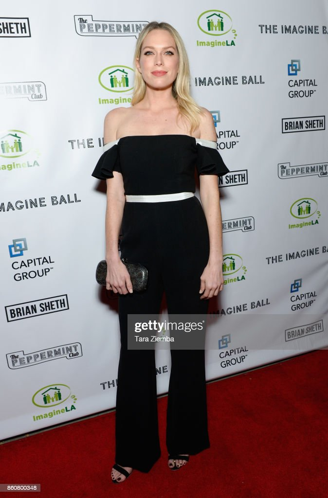 Erin Foster attends The Imagine Ball at The Peppermint Club on October 12, 2017 in Los Angeles, California.