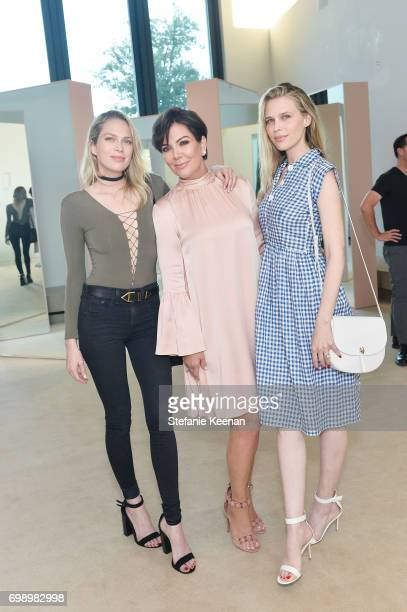 Erin Foster Kris Jenner and Sara Foster celebrate The Launch Of KKW Beauty on June 20 2017 in Los Angeles California
