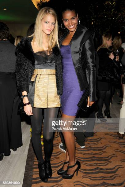 Erin Heatherton and Arlenis Sosa attend LOUIS VUITTON 2010 Cruise Collection Launch with MAGGIE GYLLENHAAL at SAKS FIFTH AVENUE at Louis Vuitton Saks...