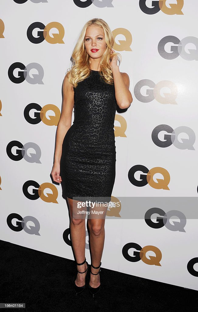 Erin Heatherton arrives at the GQ Men Of The Year Party at Chateau Marmont Hotel on November 13, 2012 in Los Angeles, California.