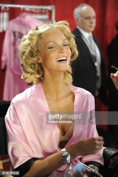 Erin Heatherton attend Hair MakeUp at the VICTORIA'S SECRET FASHION SHOW at Lexington Armory on November 10 2010 in New York City