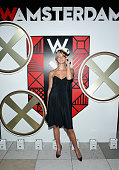 Erin Heatherton attends All Aboard as W Hotels toasts the upcoming opening of W Amsterdam with 'Captains' Taylor Schilling Erin Heatherton Chanel...