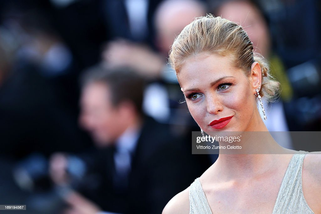 Erin Heatherton attends the 'Behind The Candelabra' premiere during The 66th Annual Cannes Film Festival at Theatre Lumiere on May 21, 2013 in Cannes, France.
