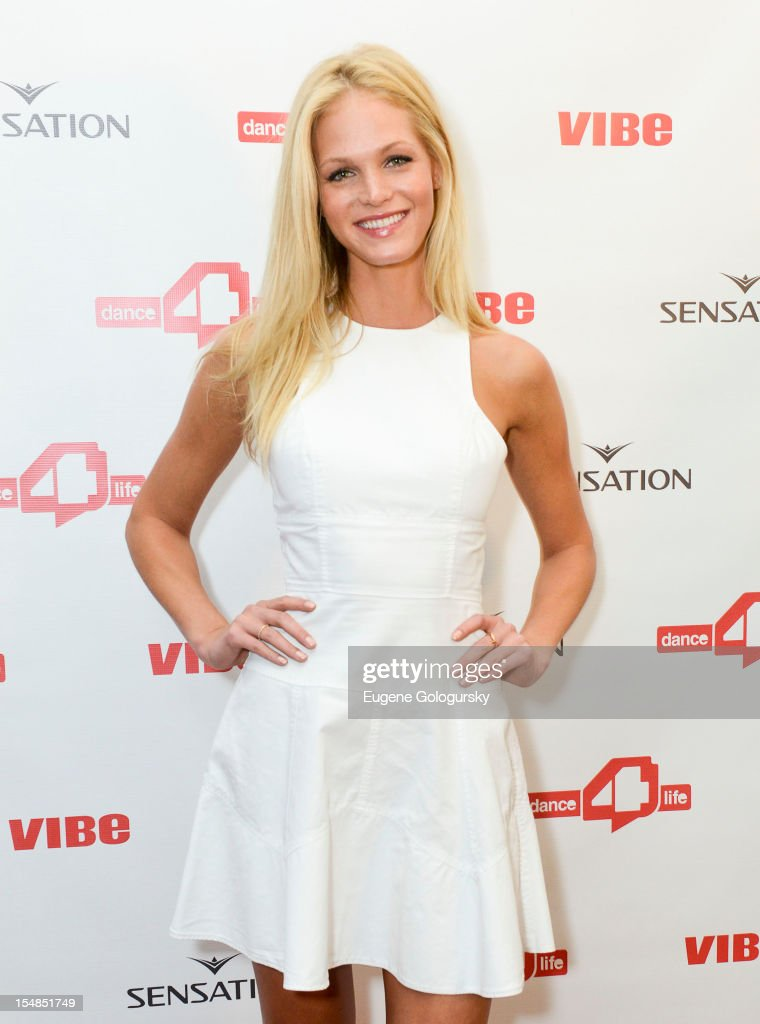 Erin Heatherton attends the dance4life USA Cocktail Party Supported By Sensation at Milk Studios on October 27, 2012 in New York City.