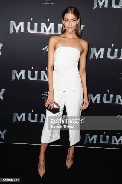 Erin Holland arrives ahead of The Mummy Australian Premiere at State Theatre on May 22 2017 in Sydney Australia