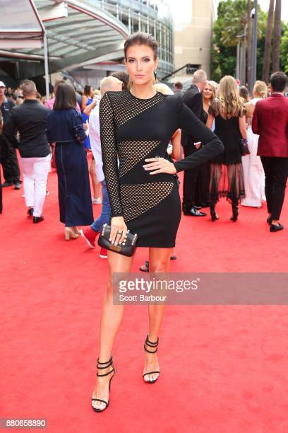 Erin Holland arrives for the 31st Annual ARIA Awards 2017 at The Star on November 28 2017 in Sydney Australia