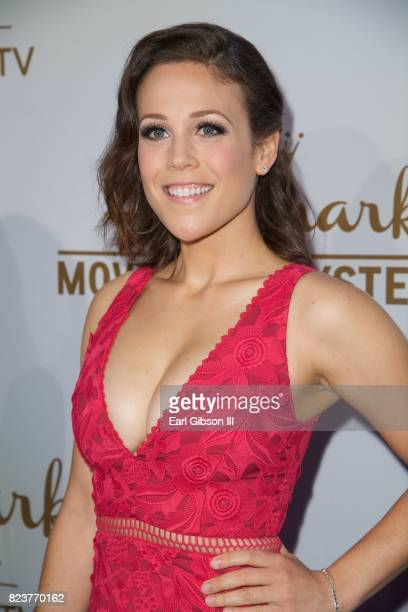 Erin Krakow attends the 2017 Summer TCA TourHallmark Channel And Hallmark Movies And Mysteries at a private residence on July 27 2017 in Beverly...