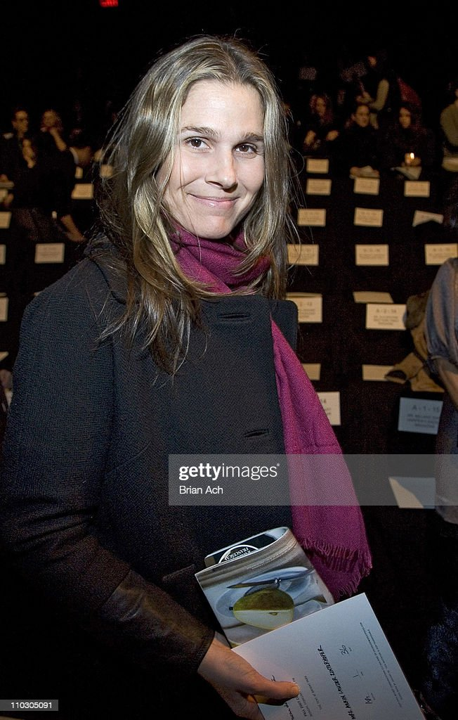Erin Lauder during Mercedes-Benz Fashion Week Fall 2007 - Oscar de la Renta - Front Row and Backstage at Bryant Park in New York, New York, United States.