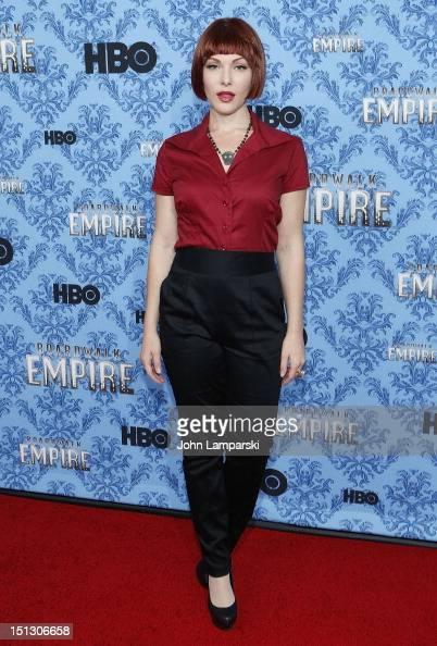 Erin Lynn Cummings attends HBO's 'Boardwalk Empire' Season 3 New York Premiere at Ziegfeld Theater on September 5 2012 in New York City