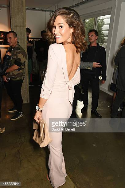 Erin McNaught attends the launch of 'Made A Book of Style Food and Fitness' by Millie Mackintosh at Carousel London on September 7 2015 in London...