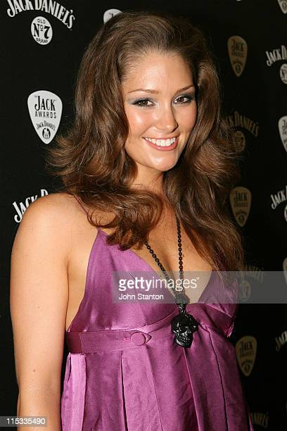 Erin McNaught during The Jack Awards 2007 Backstage and Press Room at Luna Park in Sydney NSW Australia