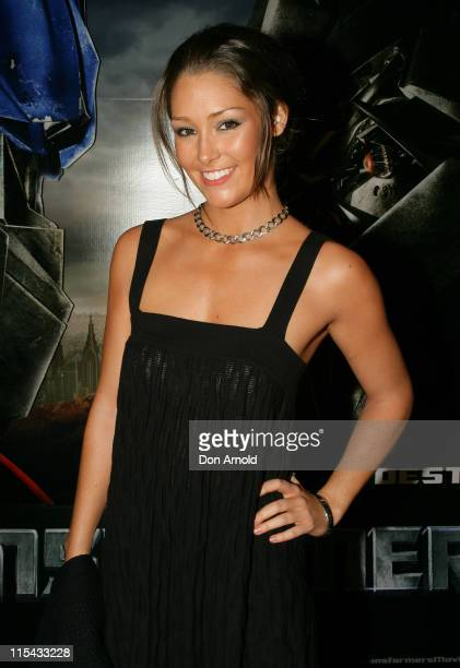 Erin McNaught during 'Transformers' Sydney Premiere at Hoyts Entertainment Quarter 213 Bent Street Moore Park in Sydney NSW Australia