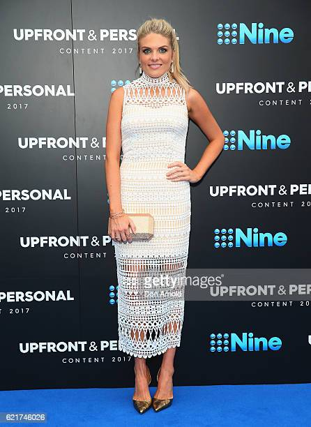 Erin Molan poses during the Channel Nine Upfronts at The Star on November 8 2016 in Sydney Australia
