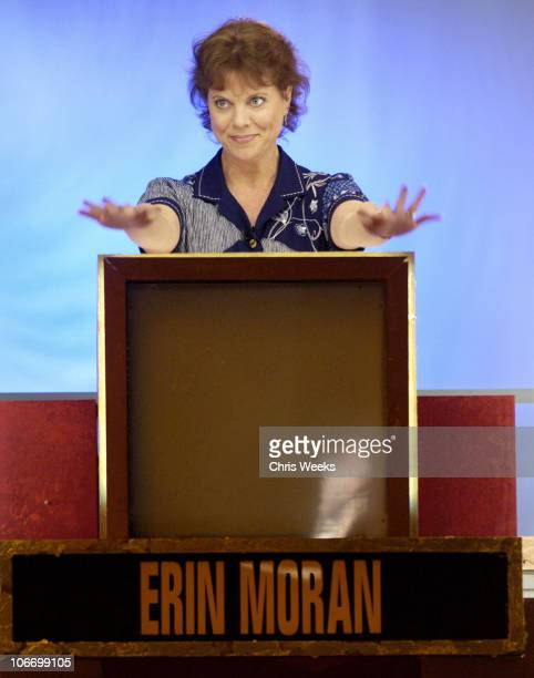 Erin Moran during David Spade and CoStars from Paramount Pictures' 'Dickie Roberts Former Child Star' Tape Hollywood Squares at CBS Television City...