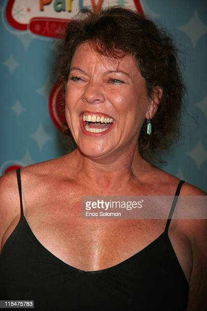 Erin Moran during LG Mobile TV Party at Stage 14 Paramount Studios in Hollywood CA United States