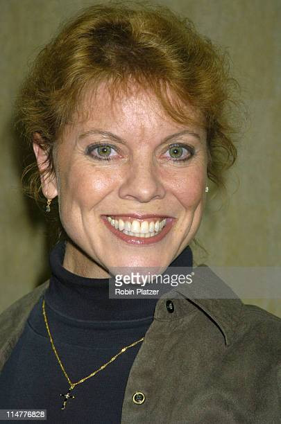 Erin Moran during Mike Carbonaros Big Apple Comic Book Art and Toy Show Press Conference January 21 2005 at Penn Plaza Pavilion in New York City New...