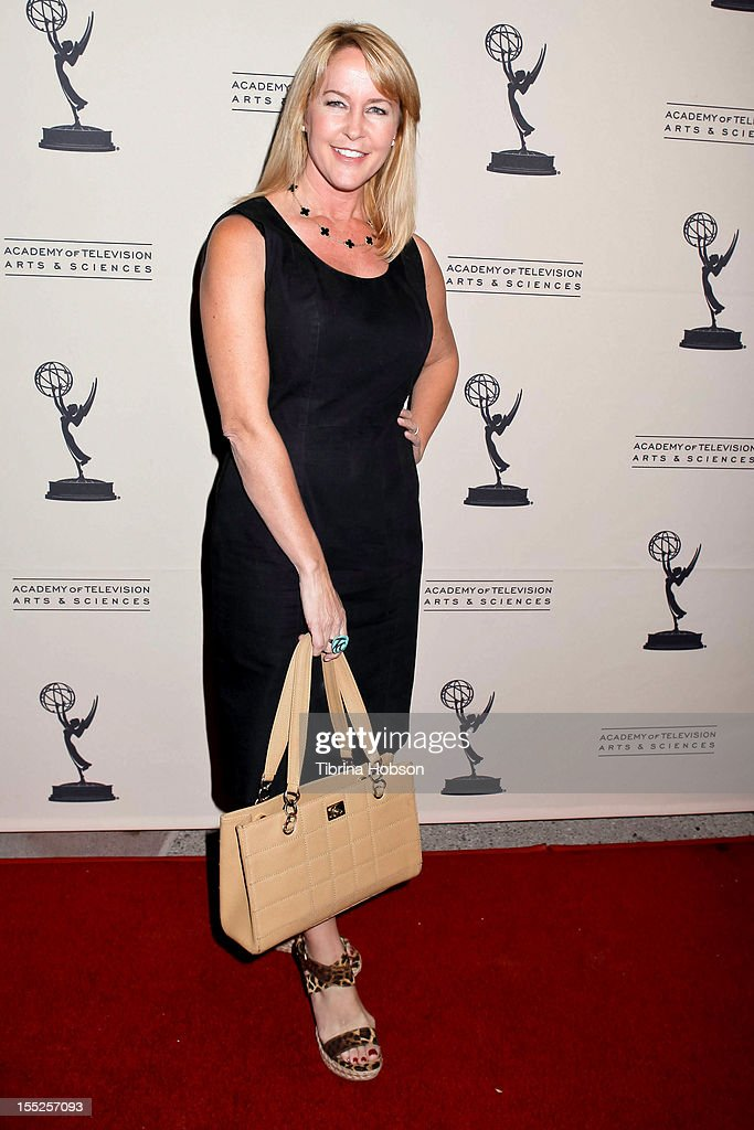 Erin Murphy attends the Academy of Television Arts & Sciences' 'The Choreographers: Yesterday, Today & Tomorrow' event at Leonard H. Goldenson Theatre on November 1, 2012 in North Hollywood, California.